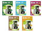 Recycling Recycle Refuse Bin Self Adhesive Stickers Indoor & Outdoor