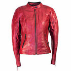Richa Lausanne Ladies Red Leather Jacket