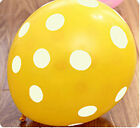 "12"" Latex Polka Dot Balloon Wedding Party Birthday Decorating 10 20 50 pcs New"