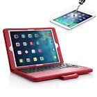 PU Leather Folio Case Cover Bluetooth Wireless Keyboard For iPad Air 2 /iPad Pro