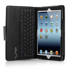 PU Leather Folio Case Cover Bluetooth Wireless Keyboard For iPad Air 2