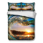 Sunrise Scenery HD Print Duvet Cover PillowCase Quilt Cover Bedding Set All Size