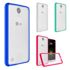 LG Grace LTE TPU Gel GUMMY Protector Hard Skin Case Phone Cover +Screen Guard