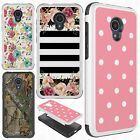 For LG Grace LTE HYBRID IMPACT Hard Dazzling Diamond Case Cover + Screen Guard
