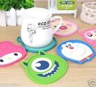 Cute Cartoon Tea/Coffee CupCoaster Placemat Non-slip Heat Protection Silica gel