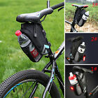 Bicycle Cycling Bike Water Kettle Bottle Saddle Tail Rear Seat Carry Bag Pannier
