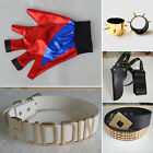 Suicide Squad Batman DC Comic Costume Harley Quinn Halloween Cosplay Props Lot