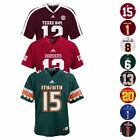 NCAA Official Home Away Alt Football Replica Jersey by Adidas & Gen 2 Youth S-XL