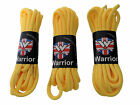 Pack of 3 Pairs Warrior Yellow Strong Long Round Boot Shoe Laces Punk Skinhead