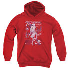 Betty Boop Boop Ball Big Boys Youth Pullover Hoodie Red $35.57 USD