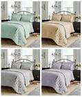Luxury Savoy Jacquard Duvet Quilt Cover Set Double King Super King Size Bedding