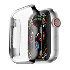 Apple Watch Series 1 /2 /3 Full Body Cover Case Tempered Glass Protect 38/42mm