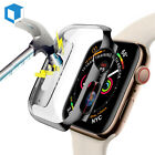 Apple Watch Series 5/4/3/2 Full Body Cover Case Tempered Glass Protect 40mm/44mm