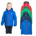 Trespass Flemington Boys Waterproof Jacket Kids School Raincoat with Hood