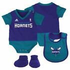 NBA Adidas Team &quot;Lil Jersey&quot; Creeper, Bib &amp; Booti Gift Set Infant Sz 0-24 Months <br/> Available in Various Teams, Colors and Sizes!