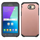 For Samsung Galaxy J3 Luna Pro HARD Astronoot Hybrid Rubber Silicone Case Cover