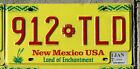 NEW MEXICO License Plate - YELLOW - Land of Enchantment - Pick Your Plate