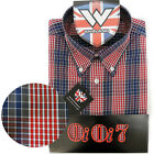Warrior UK England Button Down Shirt LARGO Hemd Slim-Fit Skinhead Mod