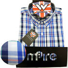 Warrior UK England Button Down Shirt NELSON Hemd Slim-Fit Skinhead Mod S-XL