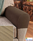 2 Stretch Sofa Arm Cover Armrest Covers Couch Chair Seat Protectors Fabric New