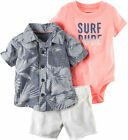 Carters Baby Boys 3-pc. Surf Dude Layette Set