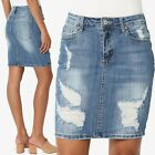 women s vintage ripped distressed stretch jean