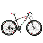 "27.5"" Men's Mountain Bike 21 Speed Shimano 3x7 MTB Full Bicycle front Suspension"
