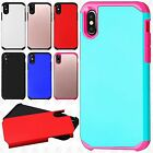 For Apple iPhone 8 HARD Astronoot Hybrid Rubber Silicone Case Phone Cover