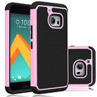 For HTC 10 / HTC One M10 Phone Case Rugged Armor Hybrid PC+Silicone Back Cover