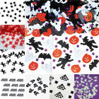 Scary Terror Halloween Party Confetti Ghosts Bats Pumpkins Paper Decor Supply