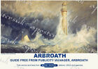 Vintage Style Railway Poster Arbroath Bell Rock Lighthouse A4/A3/A2 Print