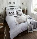 Catherine Lansfield Snuggly Penguin 100% Brushed Cotton Duvet Cover Winter Xmas