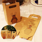 Kraft Paper Christmas Party Gifts Candy Boxes Supplies Guests Packaging Boxes