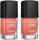 Covergirl Outlast Stay Brilliant Nail Polish, 250 My Papaya CHOOSE YOUR PACK
