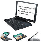 ipad pro 12.9 keyboard case cover for 2017 & 2015 with bluetooth ABS folio cover
