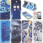 tardis doctor who Wallet Flip Leather case for  Samsung A1-0012J