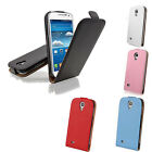 High Quality Vertical Leather Magnetic Flip Case Cover Pouch For Samsung Galaxy