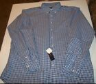 NEW Polo Ralph Lauren Big Tall Classic Fit Check long sleeve Oxford Shirt 3XLT