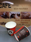Caffee to go Becher ,Pappbecher 200ml ,party becher ,einweg becher to go 100st