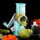 Vegetable Cutter Round Slicer Grater For Carrot Potato Chopper Kitchen Aid New