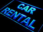 "16""x12"" i594-b Car Rental Auto Rent Shop Bar Wall Decor LED Neon Signs"