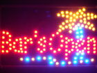 """ADV PRO led107-r Bar is OPEN Plam Tree Beer Led Neon Signs 13"""" x 9"""""""