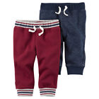 Carter's Baby Boys 2 Pack Pants Fleece Lined Warm Winter 12 18 Month NEW Clothes