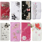 Flip case cover for Samsung Galaxy Diamond Leather Rhinestone Case For Girl,Lady