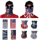 Motorcycle Face Mask American Flag Outdoor Hiking Cycling Ski Snowboard Headwear
