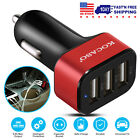 3 Port USB Fast Quick Car Charger 5.5A for iPhone XR XS Max Galaxy Note9 S9 S9+