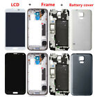 For Samsung Galaxy S5 LCD Display Touch Screen Digitizer Full Housing Case Frame