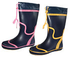Womens Seafarer Sailing Boat Deck Wellington Boots Wellies Sizes 4 - 8