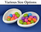 Polystyrene Hollow Two-Part Eggs - Various Sizes - Easter Crafts