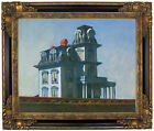 Hopper The House Framed Canvas Print Repro 16x20
